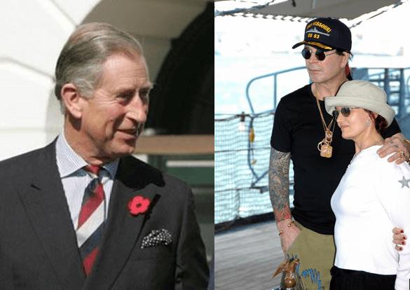 Bild: Prinz Charles und Ozzy Osbourne