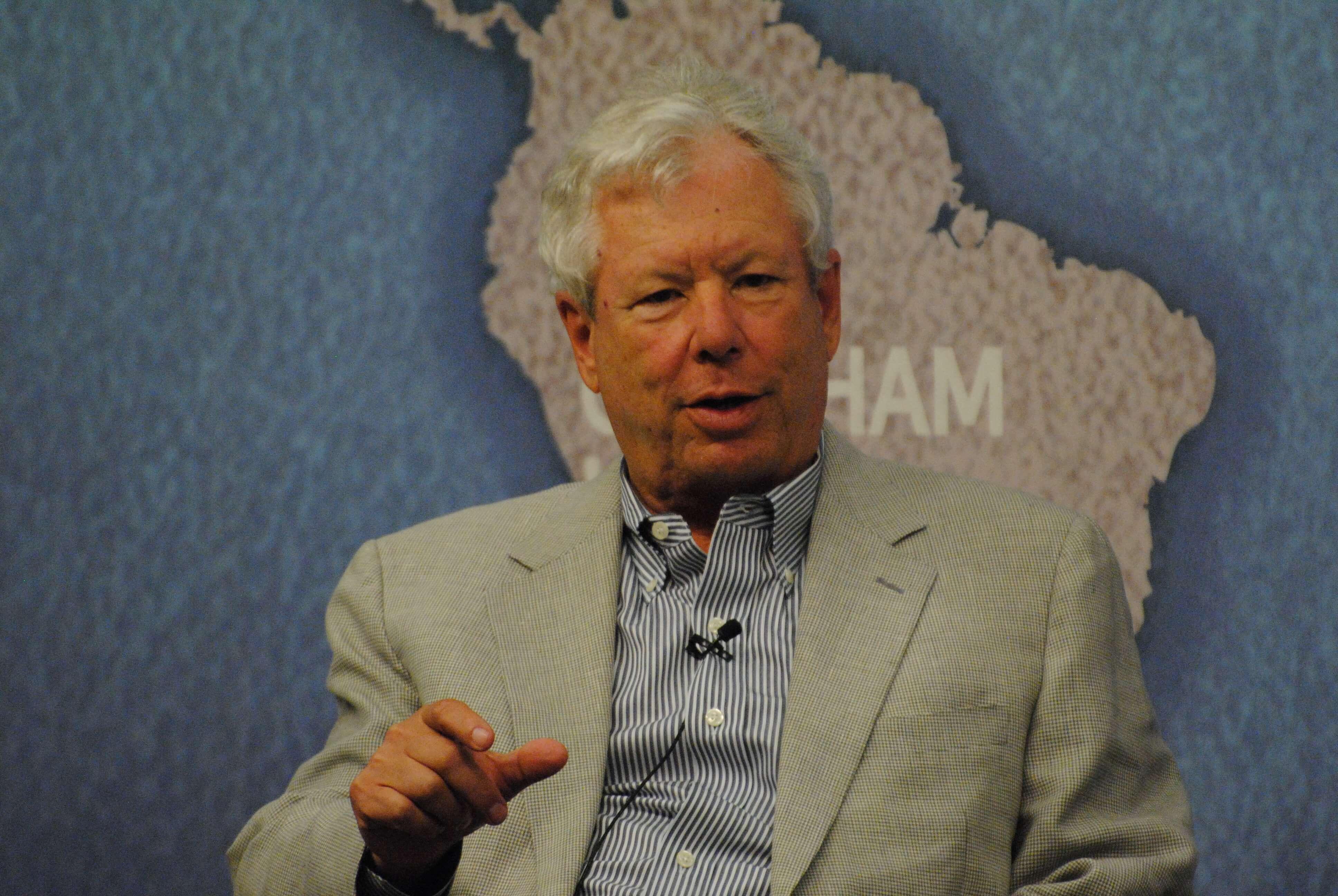 Foto: Nobelpreisträger Richard Thaler