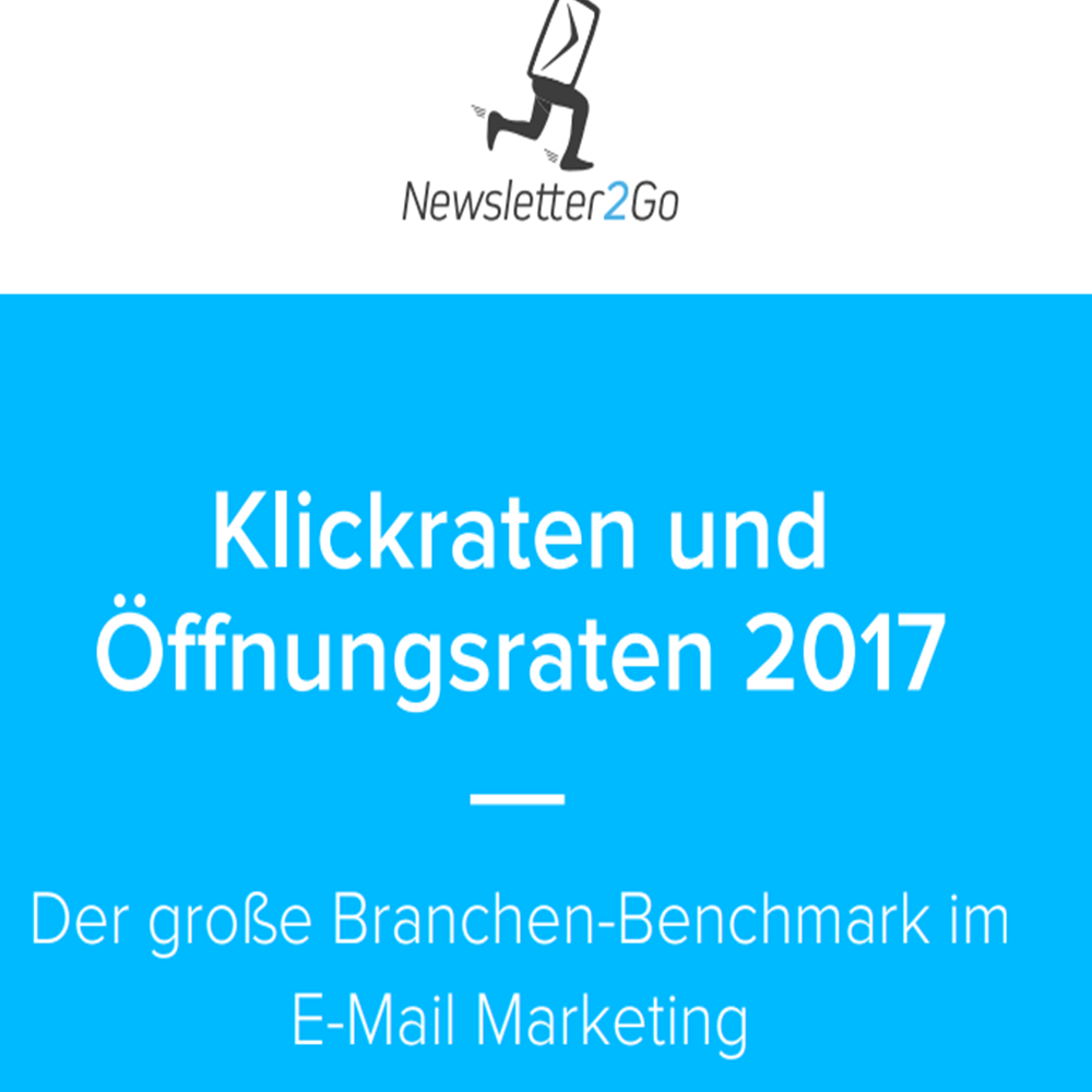 Screenshot: E-Mail Marketing Benchmark