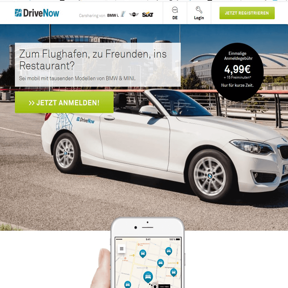Screenshot: Eine Native Ad