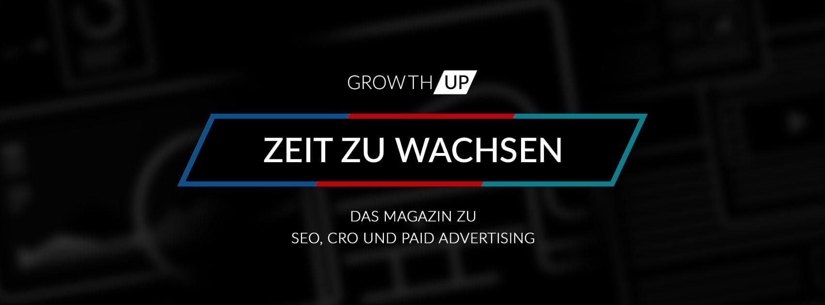 GrowthUp - Zeit zu wachsen