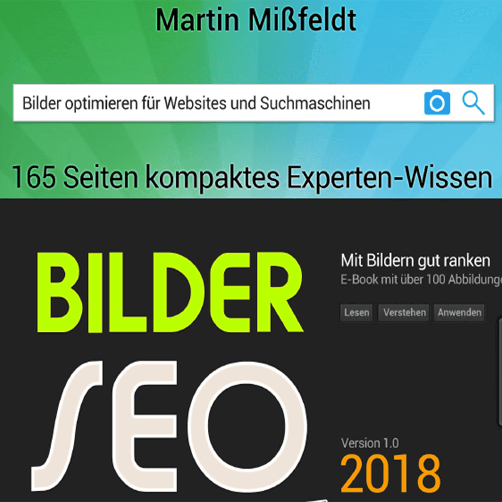 Screenshot: Cover Bilder-SEO
