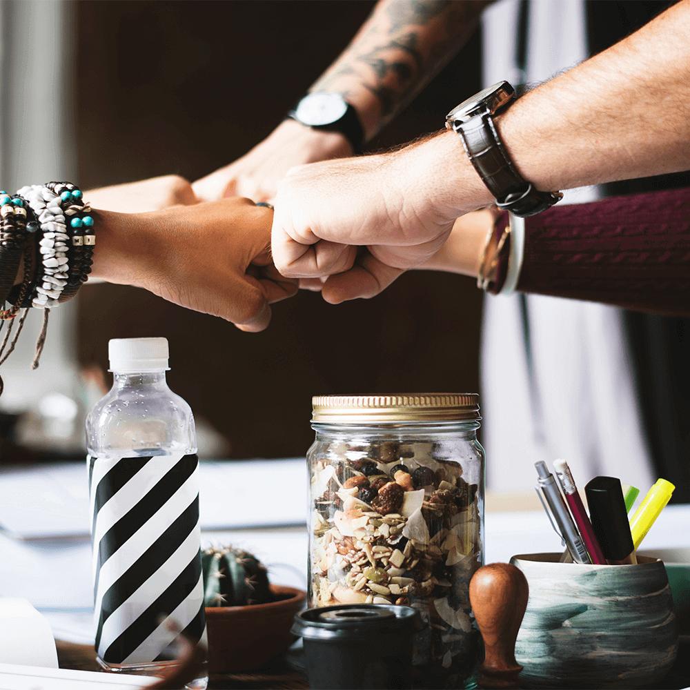 Bild: Ein motiviertes StartUp