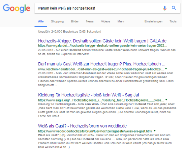 Screenshot: SERPs