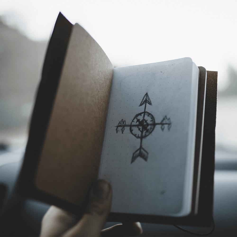 Bild: Ein Kompass