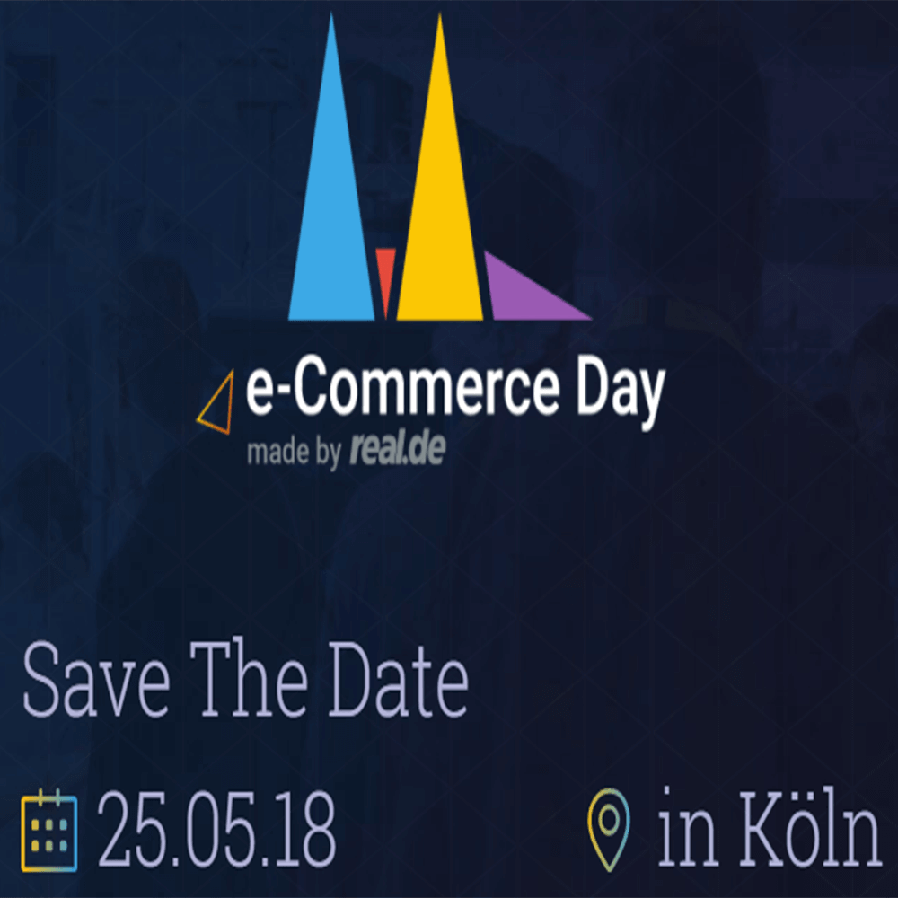 Screenshot: Logo des Real E-Commerce Day
