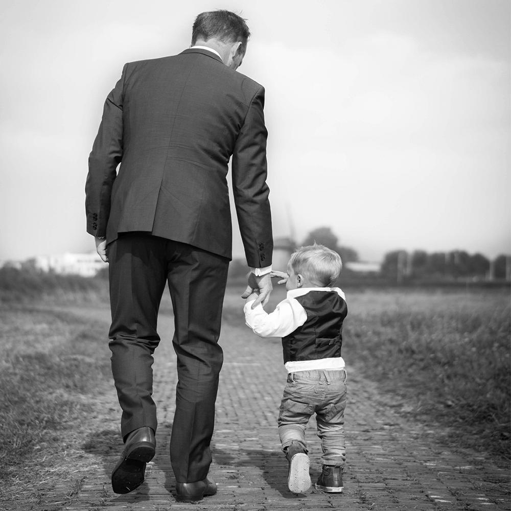 Bild: Vater und Sohn