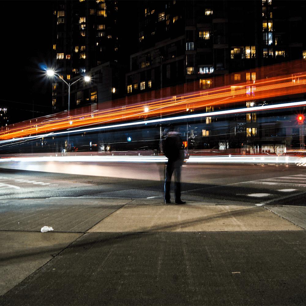 Bild: Schnelligkeit in der Stadt
