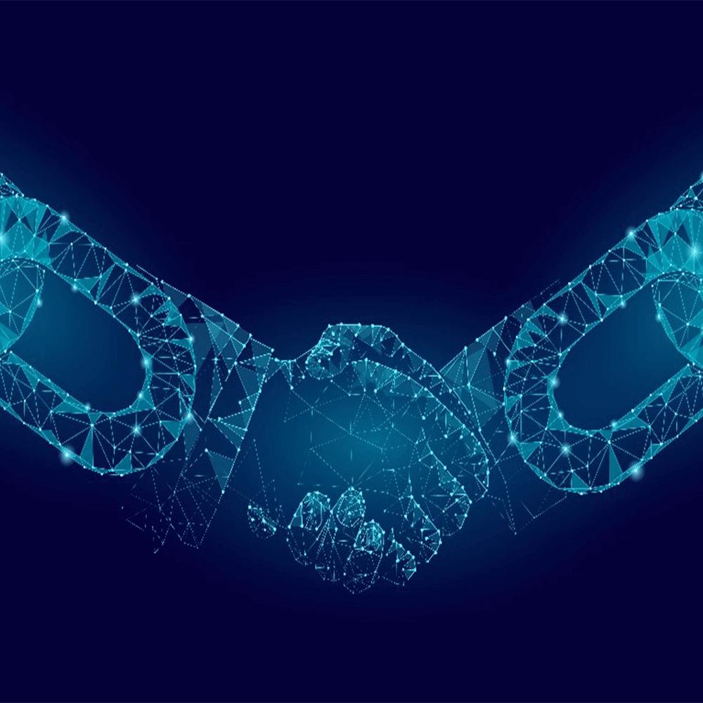 Bild: Die Blockchain