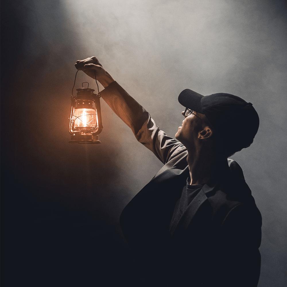 Bild: Licht im Dunkel