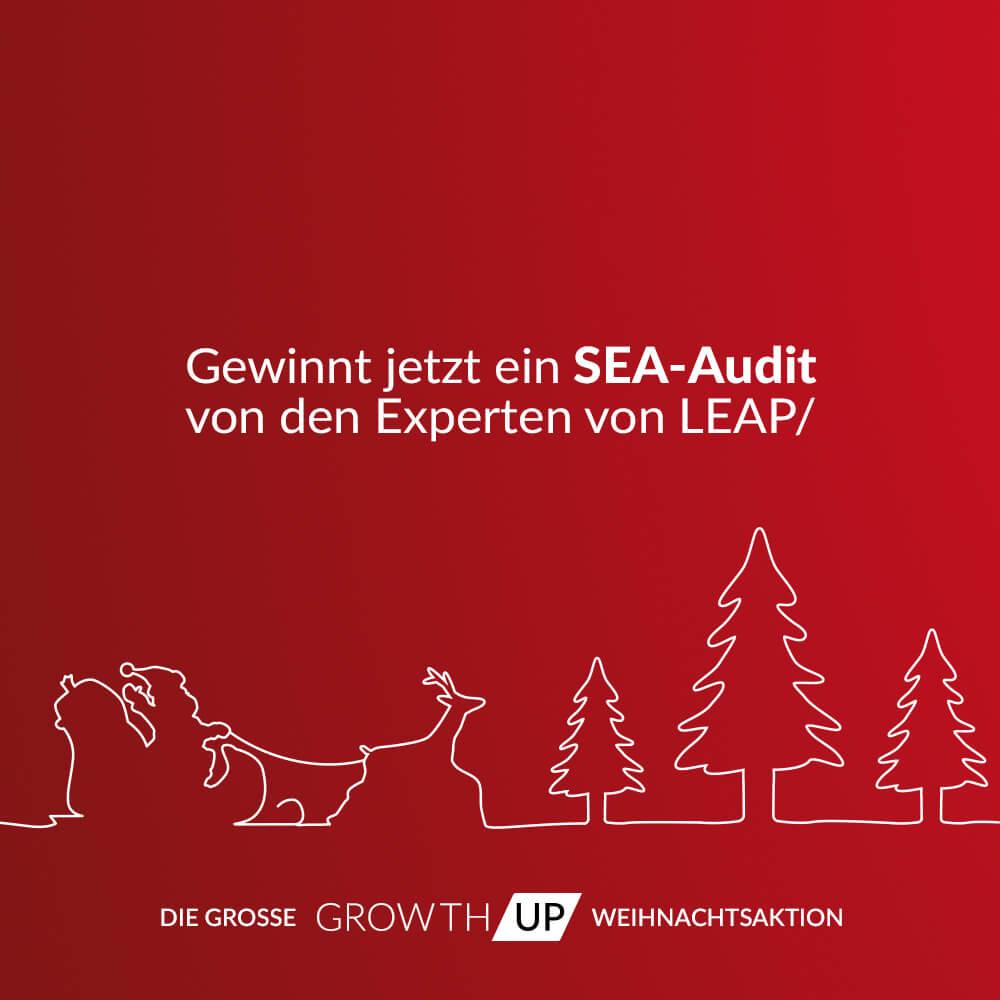 Bild: GrowthUp Weihnachtsaktion