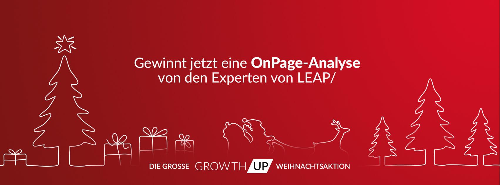 GrowthUp - Gewinnt jetzt eine OnPage-Analyse