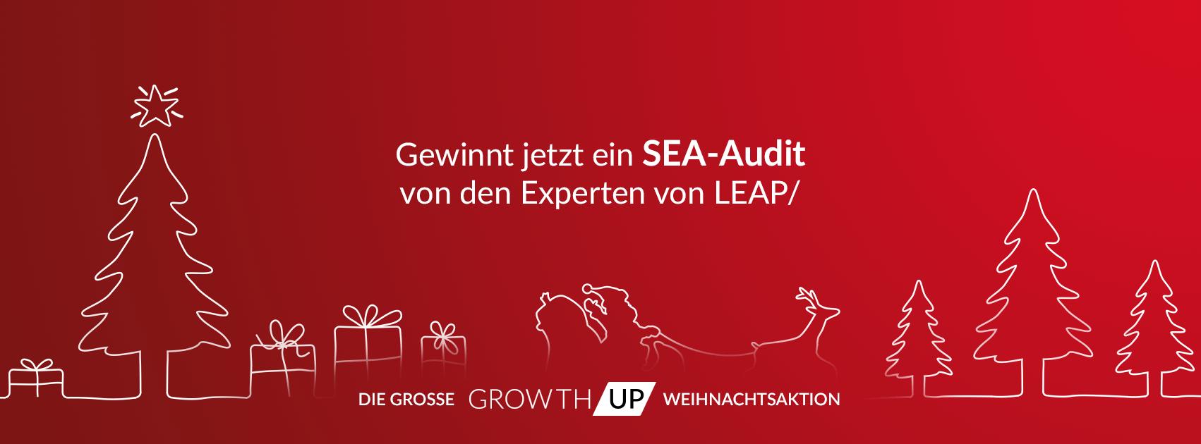 GrowthUp - Gewinnt jetzt ein SEA-Audit