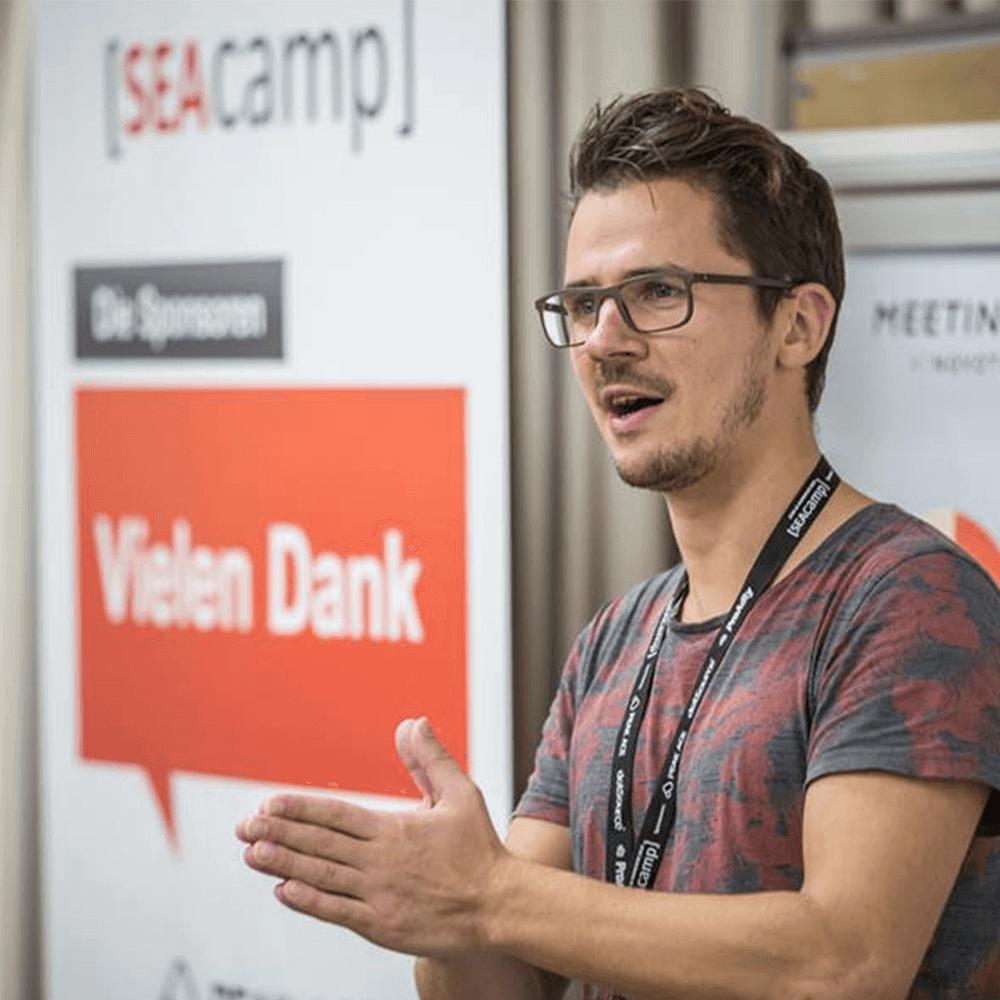 Foto: Thomas Gruhle auf dem SEAcamp
