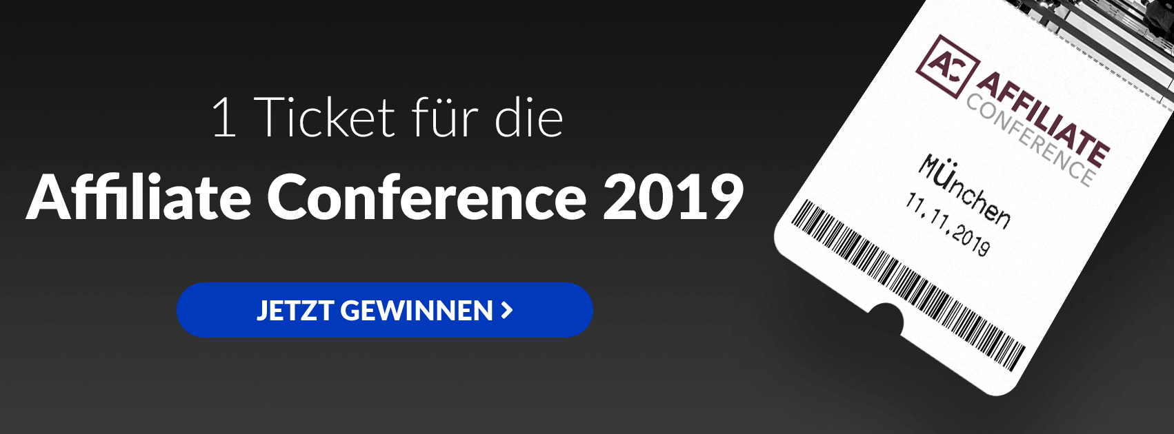 GrowthUp - Verlosung Affiliate Conference