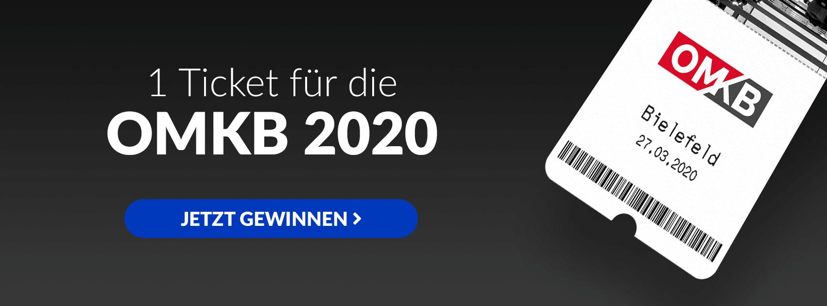 GrowthUp - Ticketverlosung OMKB 2020