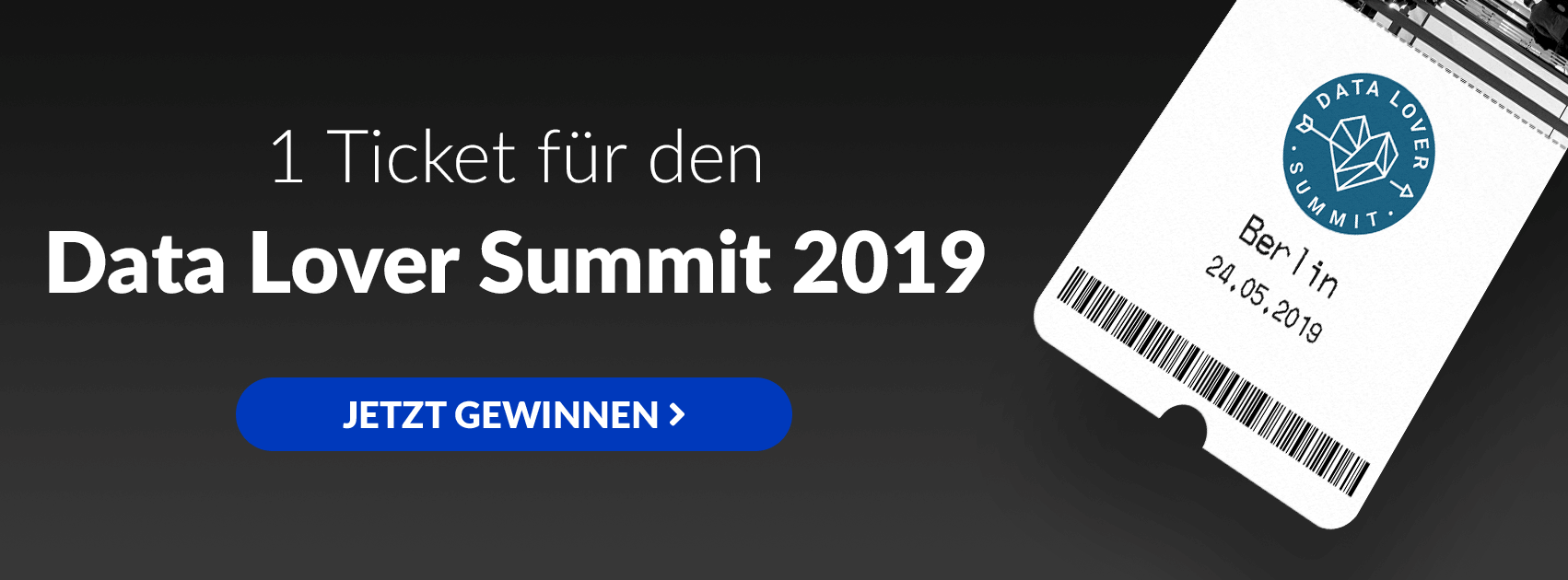 GrowthUp - Gewinnt ein Ticket zum Data Lover Summit