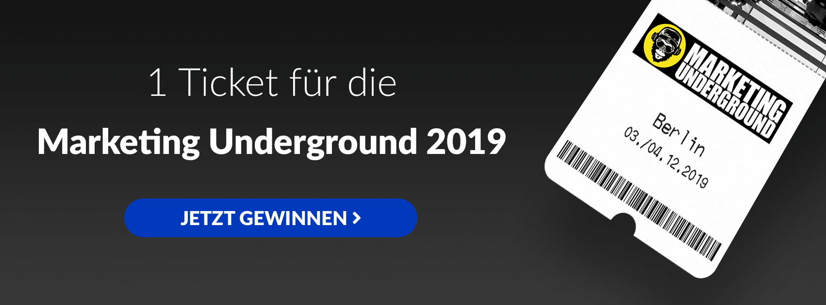 GrowthUp - Verlosung Marketing Underground